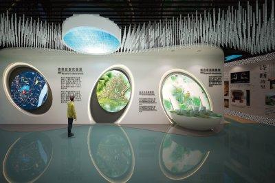 南昌湾里区城市建设规划展示馆